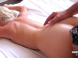 Hardcore Palpate - Small Titted Teen Blonde Massaged & Fucked
