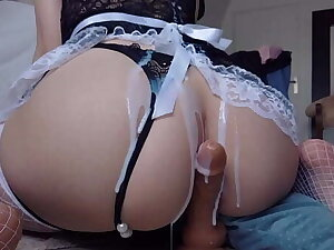 ANAL SEXY MAID MAKES YOU CUM FUCKING TIGHT ASSHOLE