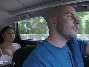 Trickery - Rideshare Driver Manoeuvres Busty Latina Into Sex