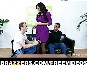 Lisa Ann wants to culmination familiarize with her best scenes ever with a DP threesome