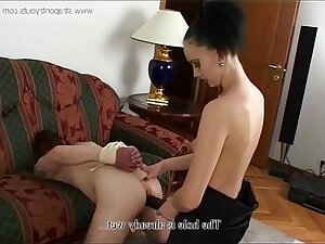 Russian mistress and her little following