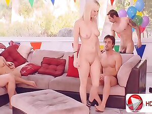 Cherry Torn Taylor Russo Sexy balloon popping HD Porn